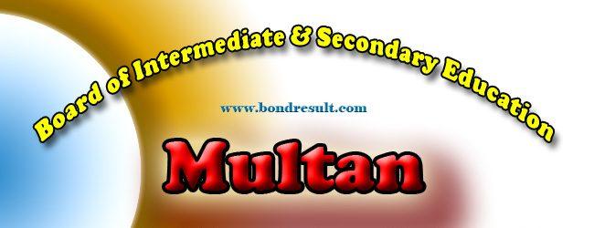 Download BISE Multan Board HSSC Part 1 Result 1st Year 2015
