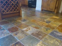 Slate Floor Tile Cleaning - Bond Stone Cleaning & Polishing