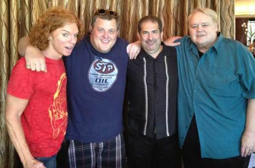 Carrottop Billy Gardell Joe Sanfelippo Louie Anderson
