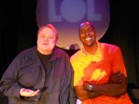 Louie Anderson and John Sally