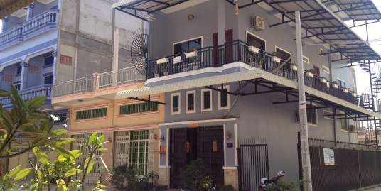 Corner flat for rent near International School of Phnom Penh (ISPP)