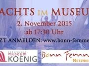Der Film Nachts im Museum Alexander Koenig