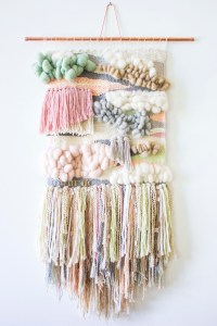My First Woven Wall Hanging by Designer Bonnie Christine