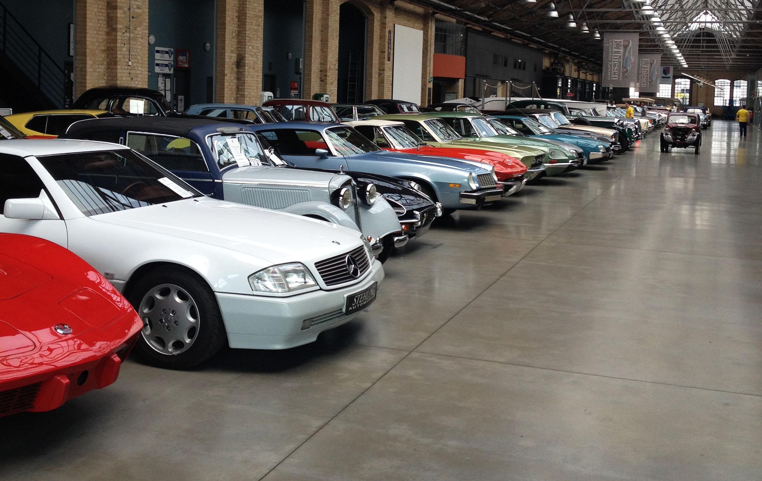 Der er masser af klassiske biler at finde i Berlins gader