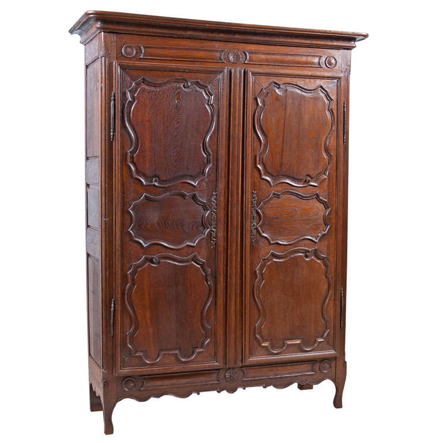 18th Century Armoire From The Ardennes Region Of Belgium Bonnin Ashley Antiques Miami Fl