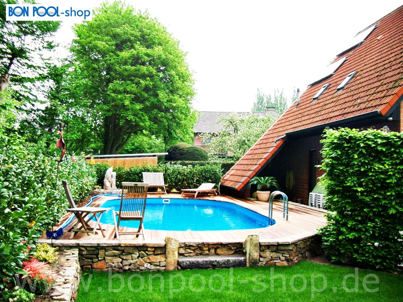 Pool Rund 150 Tief Ovalbecken Set 630 X 360 150 Tief Ovalpool Bon Pool