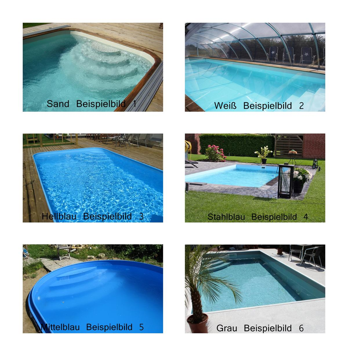 Pool Abdeckung Infinity Infinity Pool Set Pp Becken Bon Pool