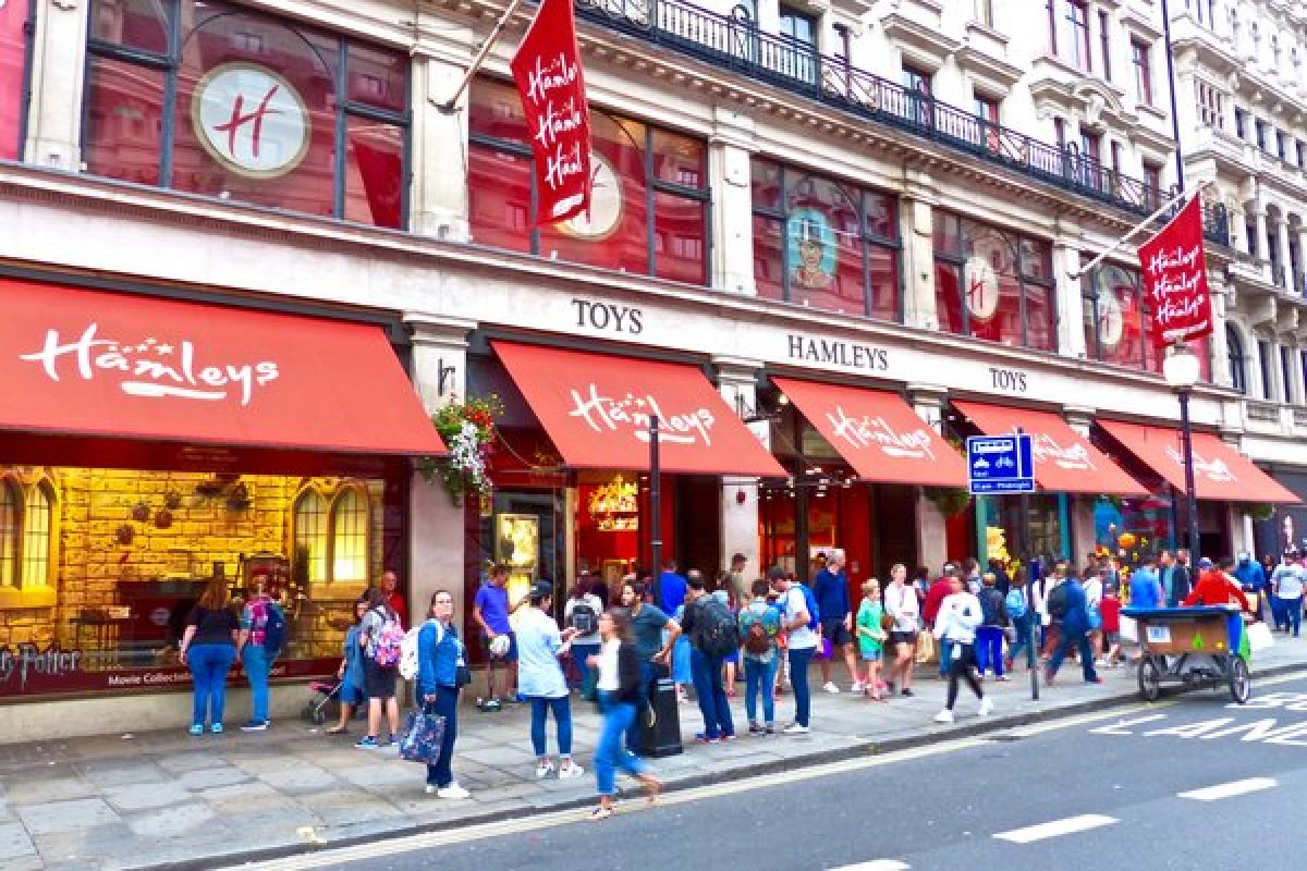 Le Bon Coin Jouets Hamleys Le Plus Grand Magasin De Jouets De Londres