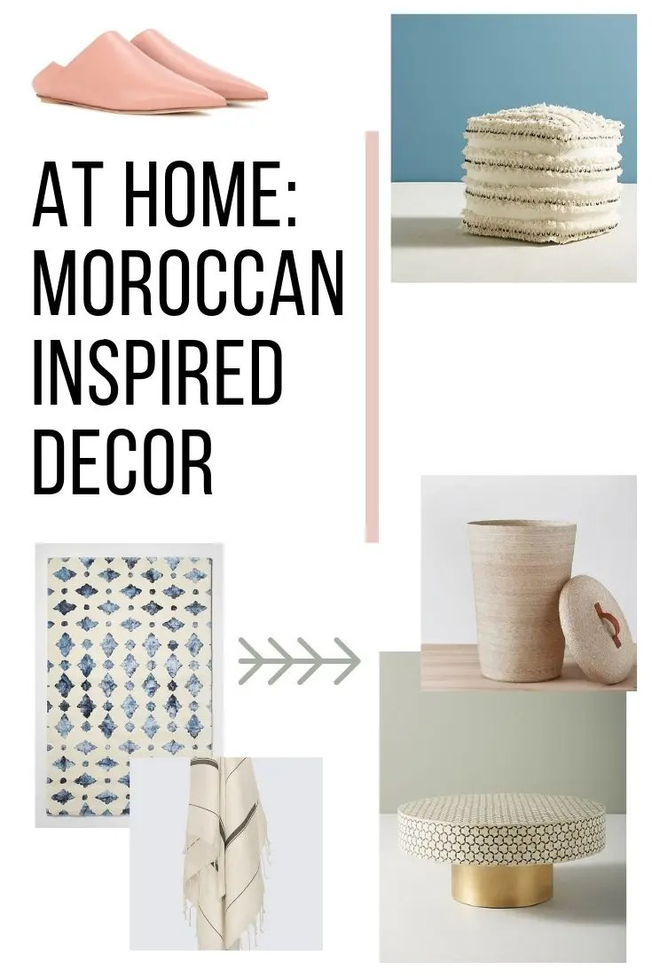 Moroccan Leather Pouf Design Sit Down Pinterest Leather At Home Moroccan Inspired Decor Bon Traveler
