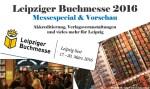 Leipziger Buchmesse 2016 // Programmübersicht, Vorschau und Verlagshighlights