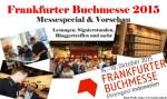 Messespecial zur Frankfurter Buchmesse 2015