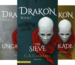 Book Cover: DRAKON (4 Book Series) by C.A. Caskabel