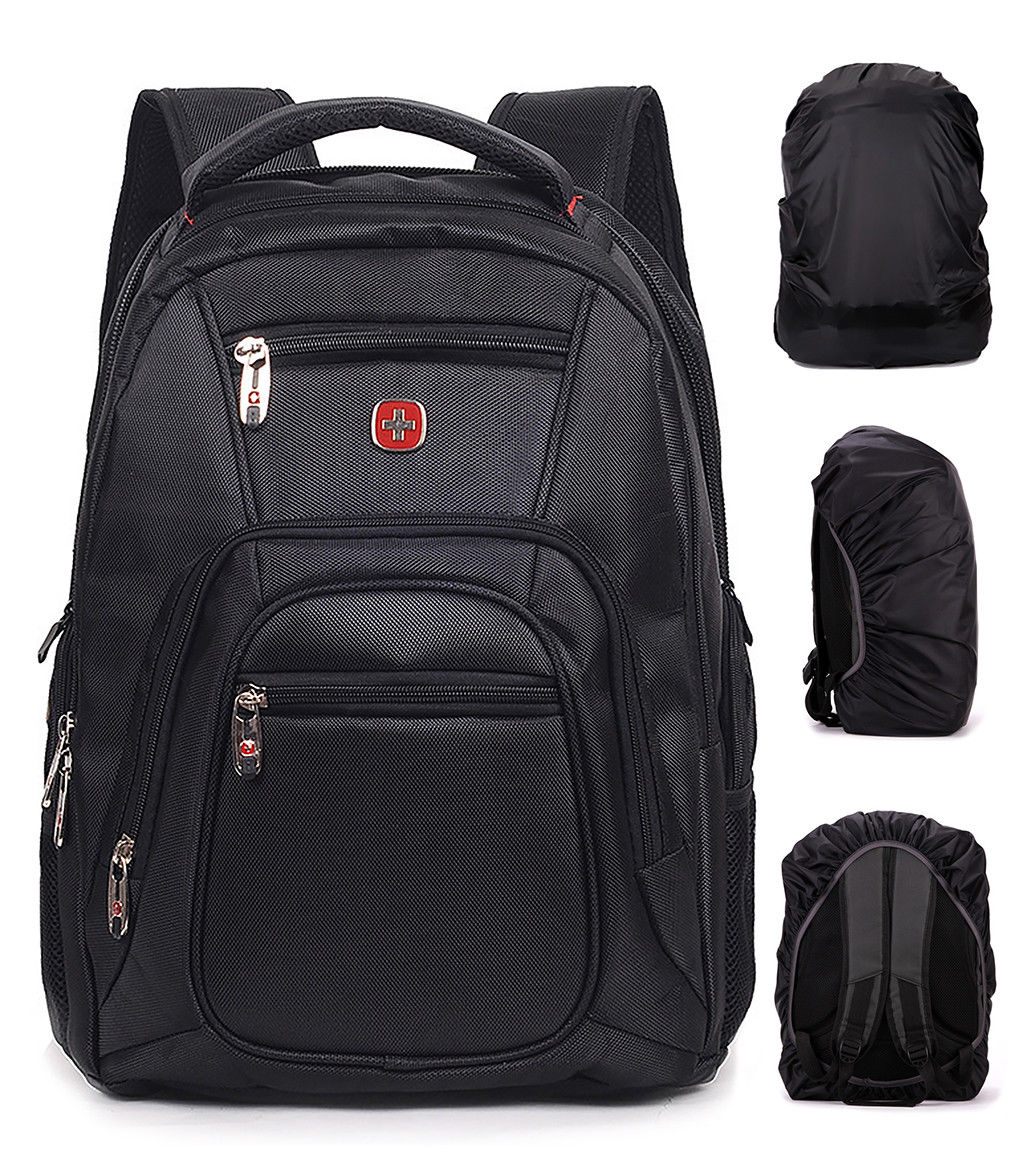 2018 Travel Gear Men Waterproof Travel Gear Backpack Swiss Laptop Hiking