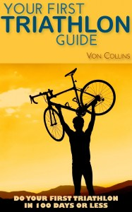 Book cover design: Your First Triathlon Guide