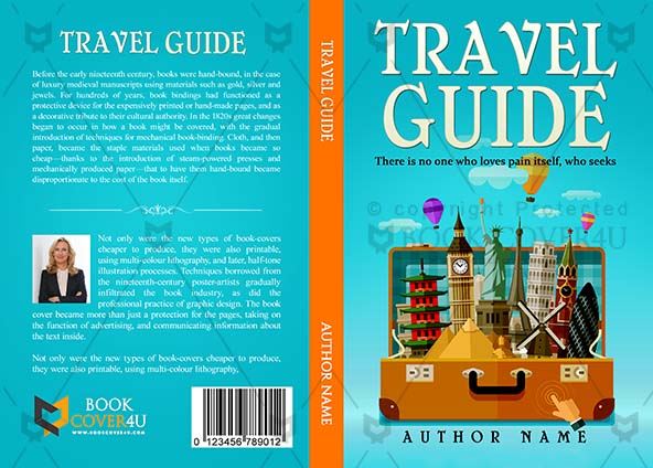 Adventures Book cover Design - Travel Guide