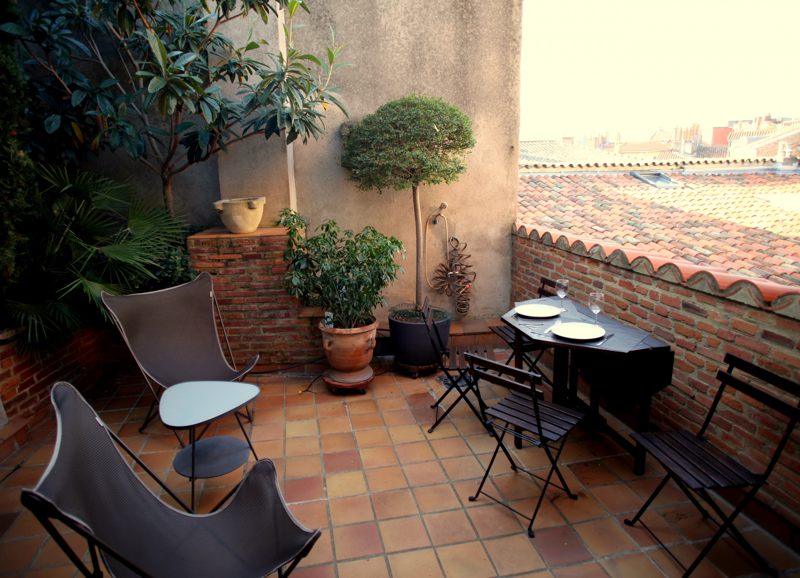 Terrasse Toulouse Studios In Toulouse With Air Conditioned Croix Baragnon Terrasse