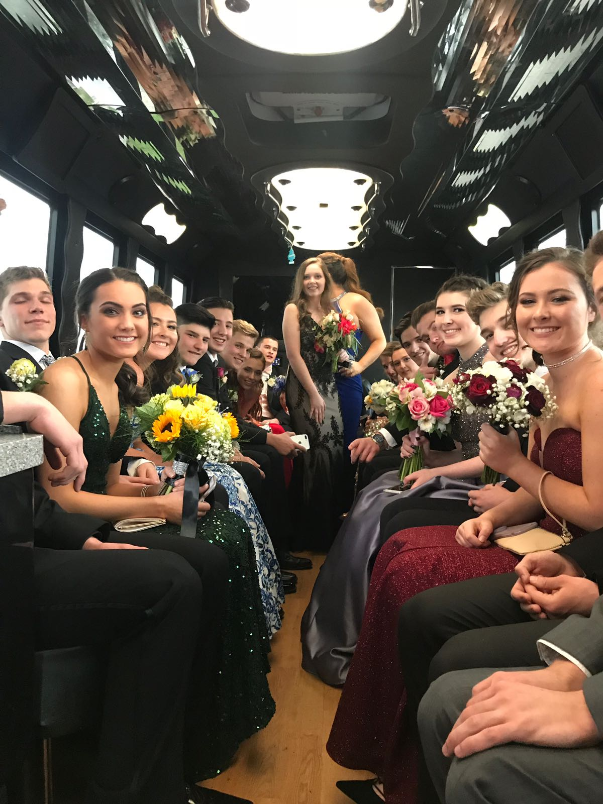 Limo Prom Prom Limo Services Limos For Prom Night Nj Party Buses For Prom Nj