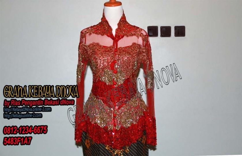 Produsen Kebaya Wisuda Murah - Kebaya Modern Full Payet - Kebaya DNOVA 081212346675 (1)