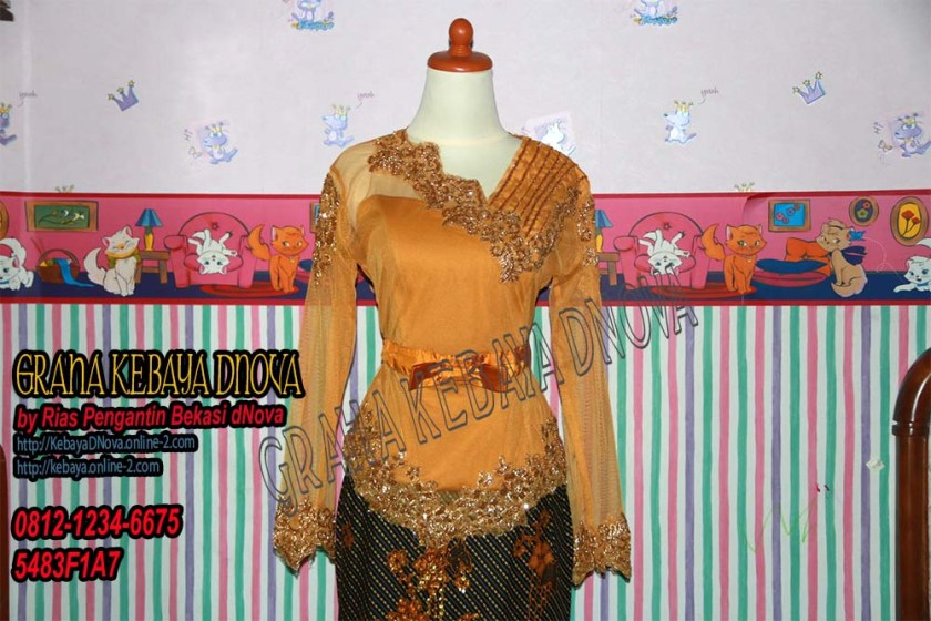 Produsen Kebaya Wisuda Murah - Kebaya Modern Payet - Kebaya DNOVA 081212346675 (2)