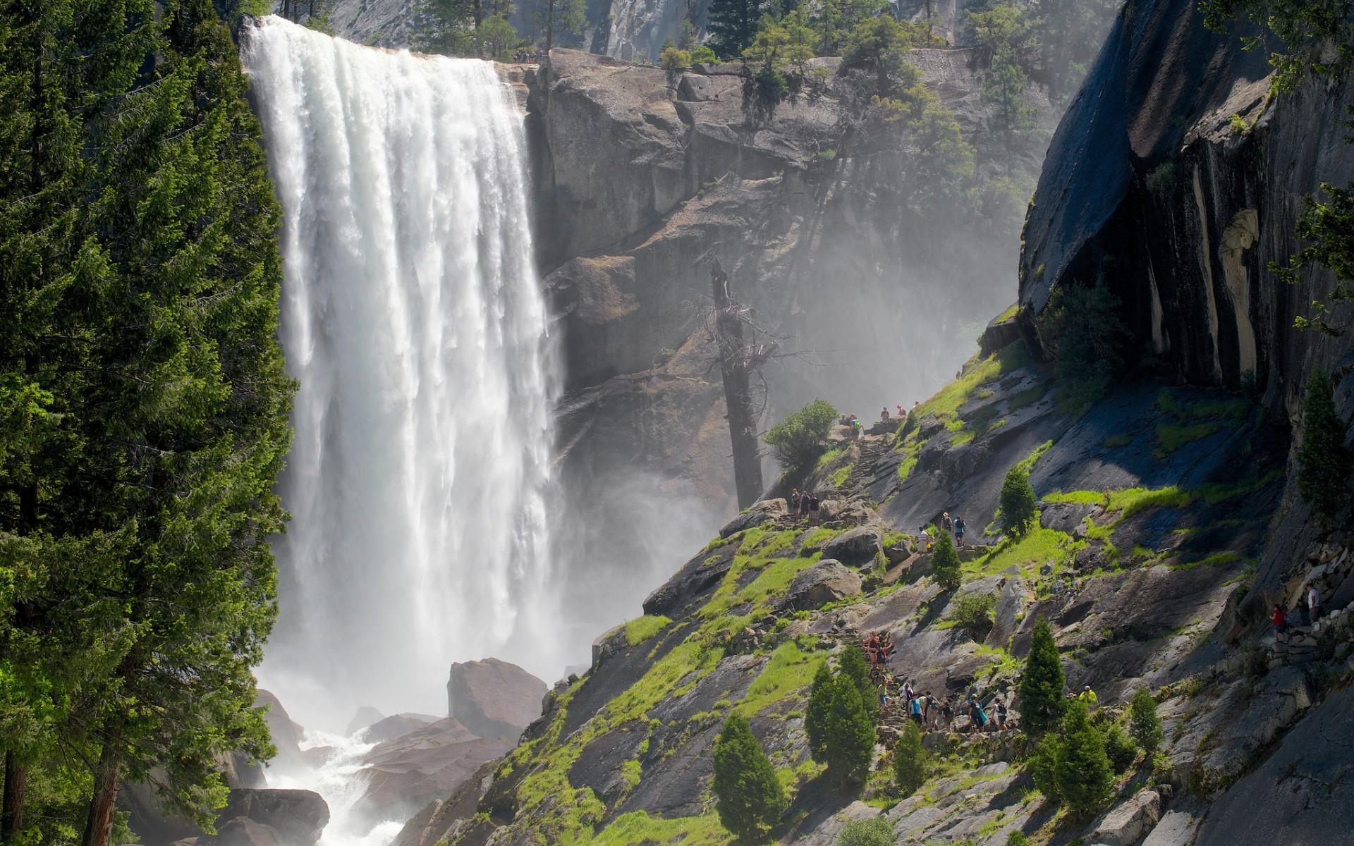 Late Fall Desktop Wallpaper Desktop Wallpaper Cascata Yosemite Park