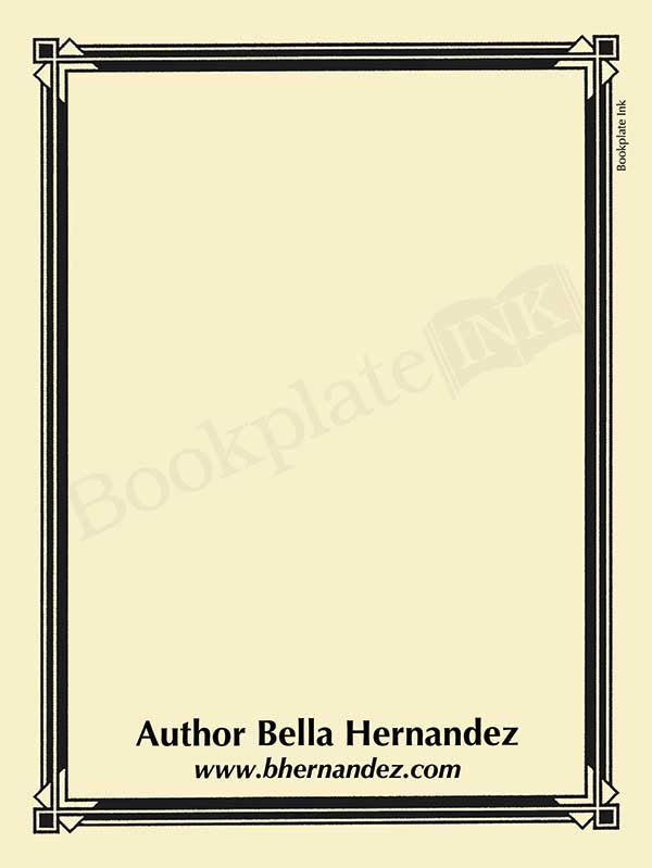 Bookplate Ink - Antioch bookplates (ex libris) for home, schools and