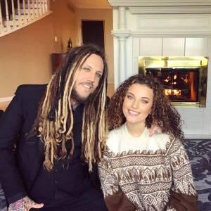 Brian Welch & Daughter Jennea Thanksgiving