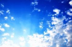 Sky Blue & Clouds Free Use