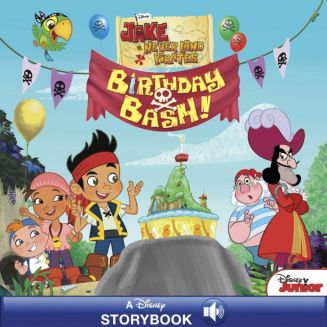 Jake and the Never Land Pirates: Birthday Bash: A Disney Read-Along