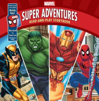 Super Adventures: Read-and-Play Storybook