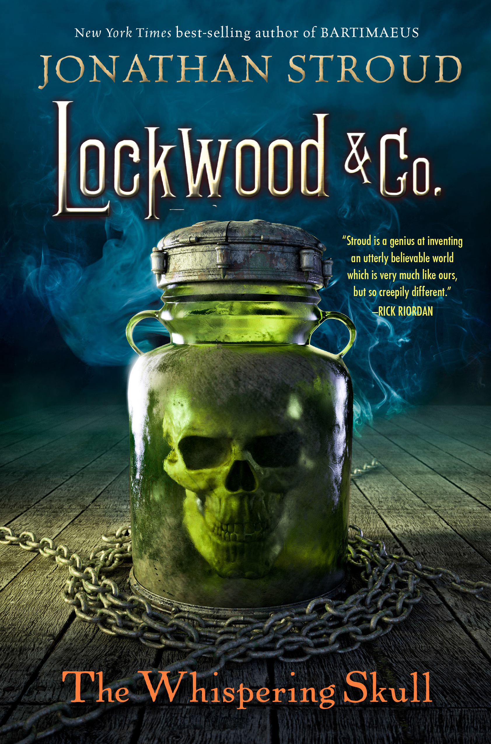 Lockwood and Co. The Screaming Staircase – The Book Blog