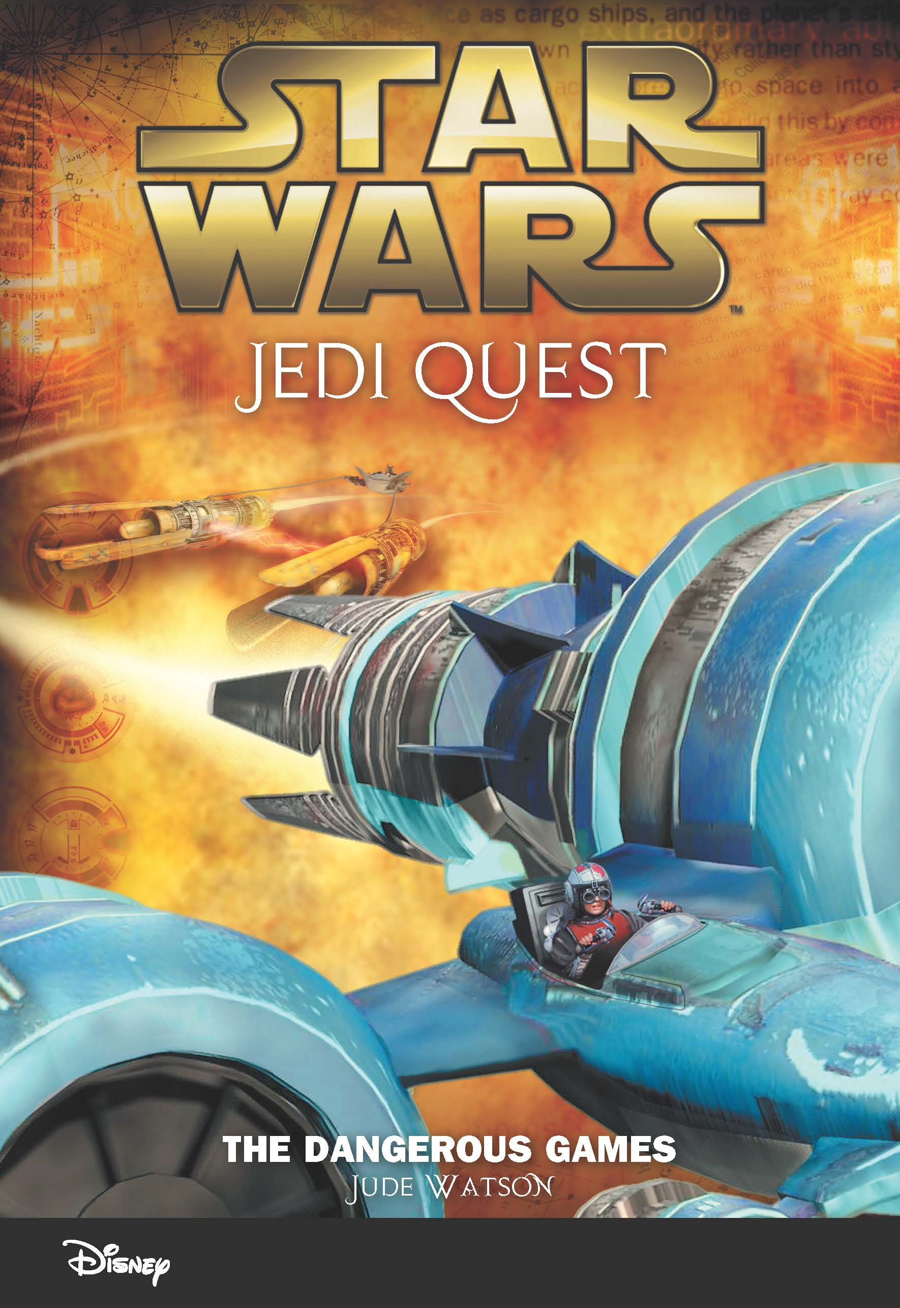 Star Wars Jedi Quest: The Dangerous Games