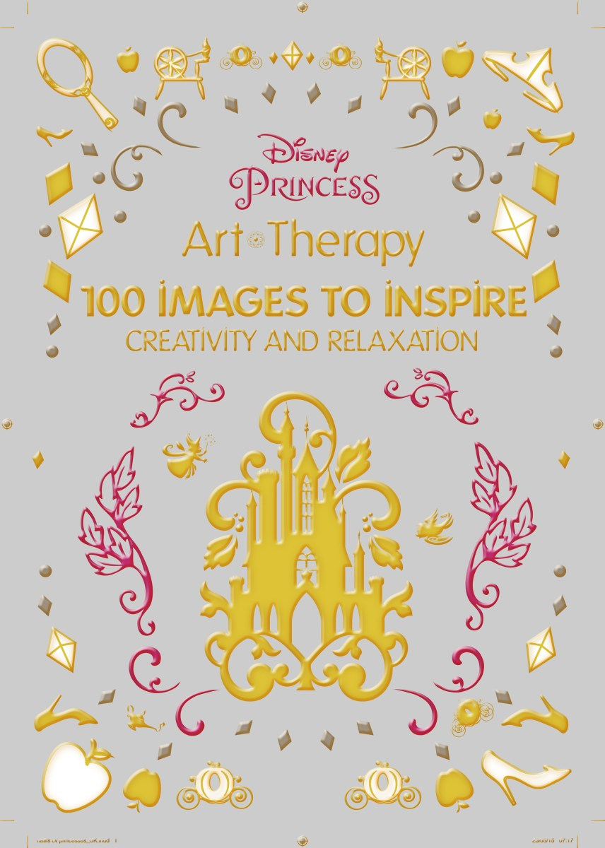 Art Therapy Coloring Book National Bookstore Disney Princess Publishing Worldwide