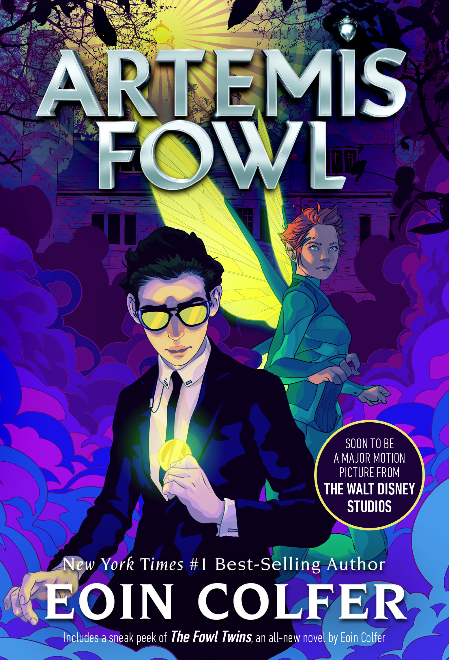 Artemis Libros Artemis Fowl Disney Books Disney Publishing Worldwide