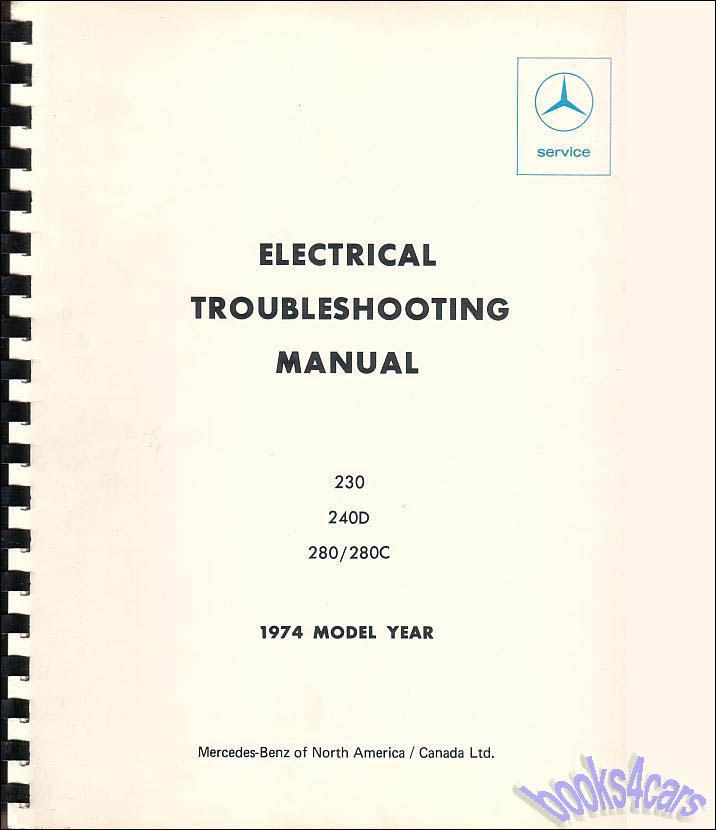 Mercedes Manuals at Books4Cars