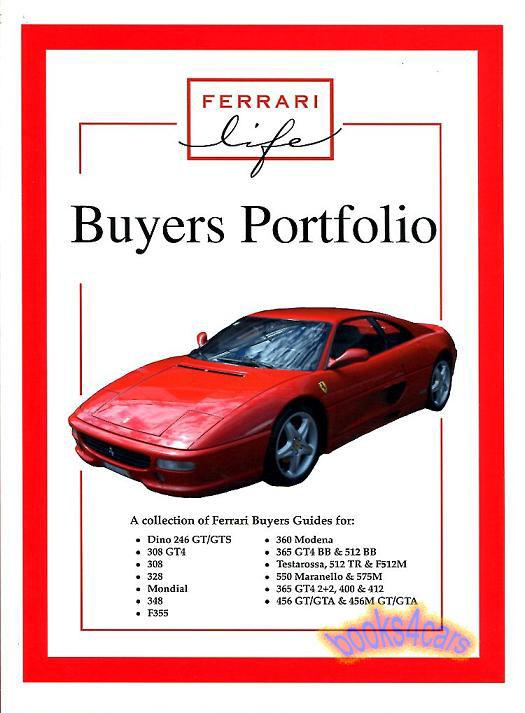 Ferrari Mondial Manuals at Books4Cars