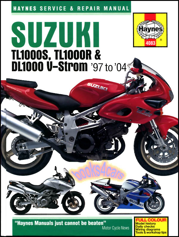 Suzuki Bikes Manuals at Books4Cars