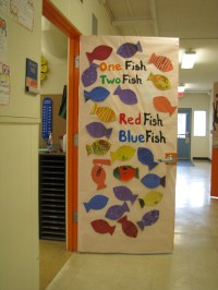Read Across America  Door Decorating | booksandbassets