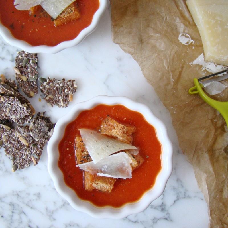Tomato and Basil Cream Soup