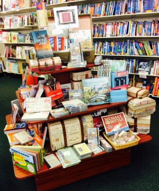 Travel Themed Display |Doylestown Bookshop