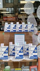 Tenth of December Display | The Book Table, Oak Park, IL
