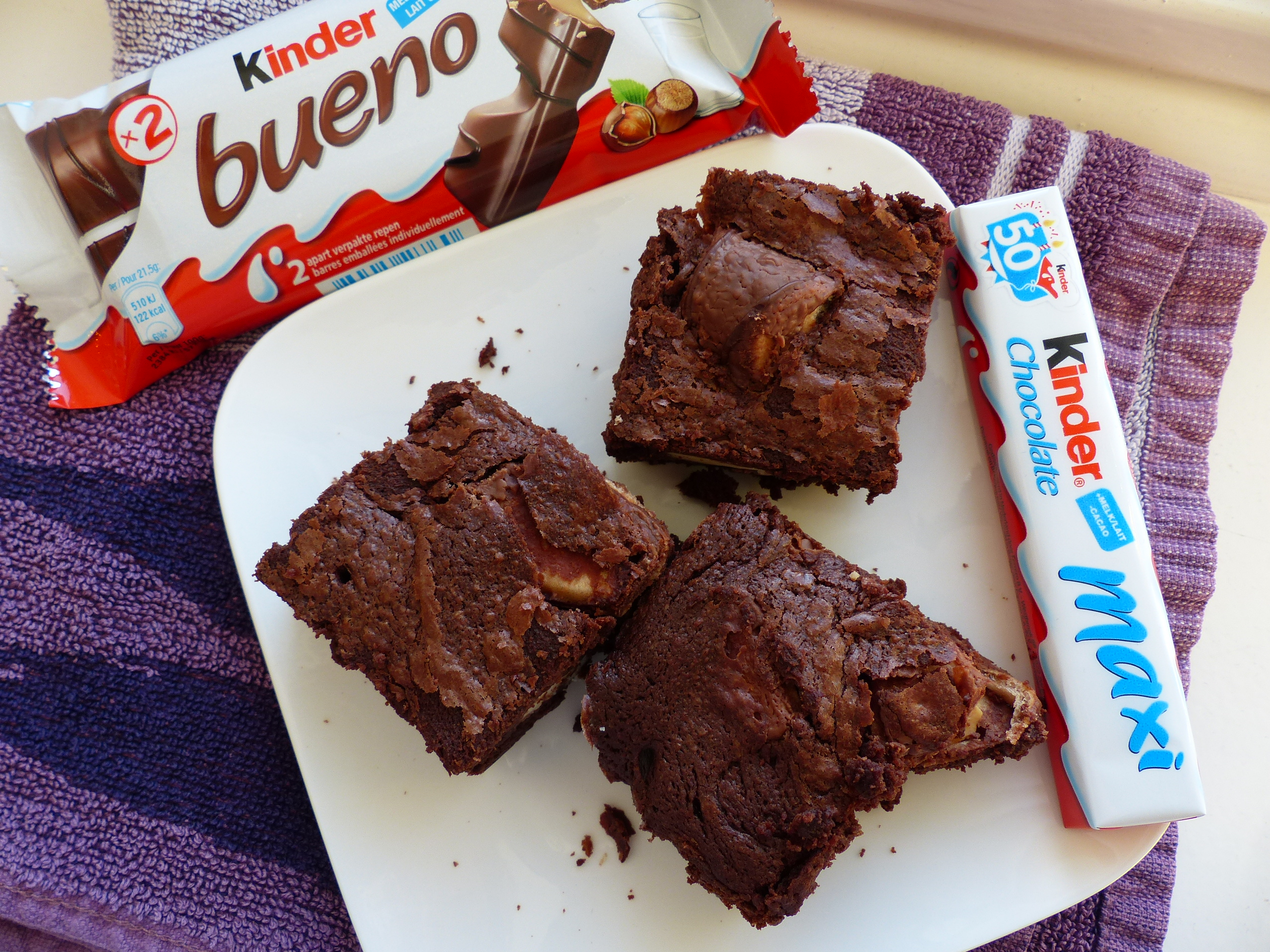 Kinder Maxi Big Pack Recipe Kinder Bueno Brownies Books Baking And Blogging
