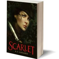 Thieves, Knives & Secrets: SCARLET by A.C. Gaughen – Review