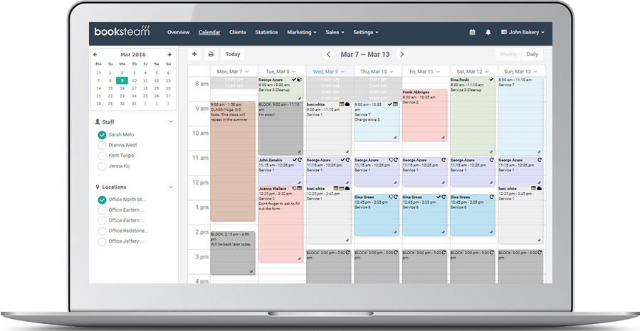 BookSteam Online Appointment Scheduling Software Free Trial Sign Up