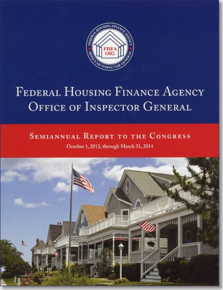 Federal Housing Finance Agency Office of Inspector General Semiannual Report to Congress ...