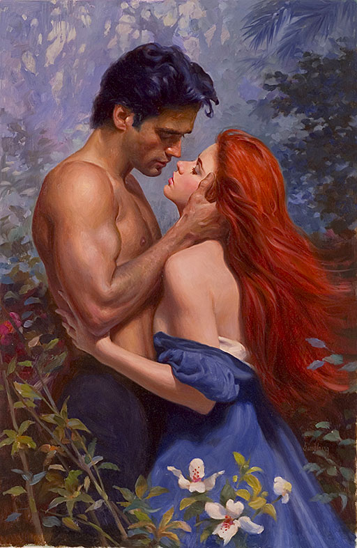 To ALL Romance Novel Cover Artists: Happy Valentine's Day! (6/6)