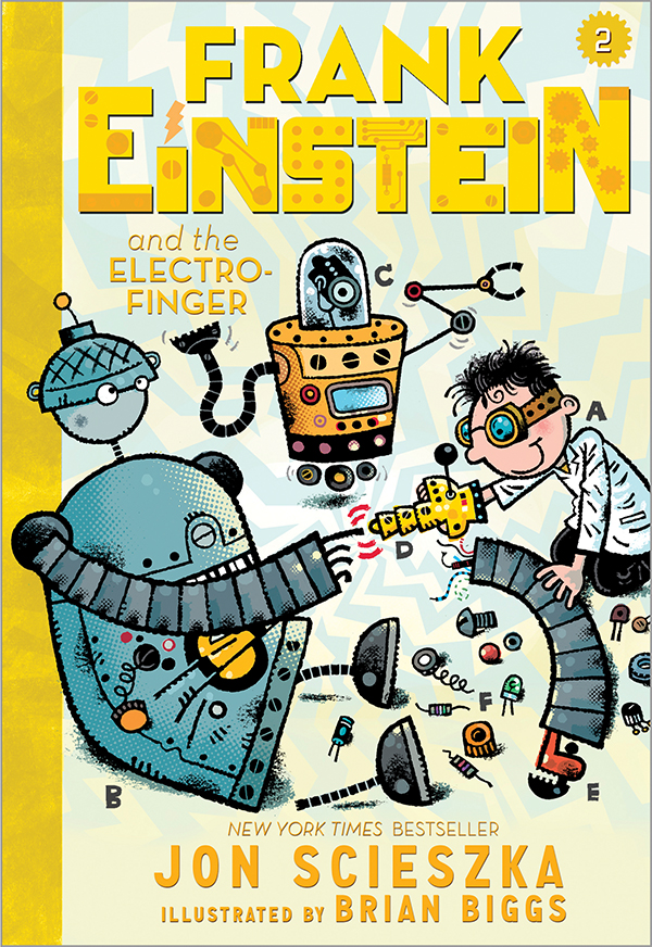 Exclusive look at the next frank einstein cover for Frank einstein and the antimatter motor