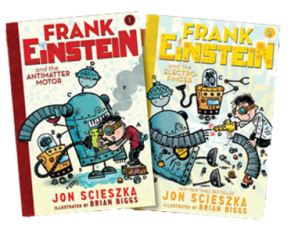 Want to win a frank einstein prize pack book zone by for Frank einstein and the antimatter motor