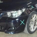 BMW E46 Msports バンパー フェンダー修理事例