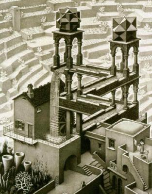 All M.C. Escher works © 2016 The M.C. Escher Company - the Netherlands. All rights reserved. Used by permission. www.mcescher.com