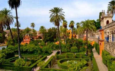 Alcazares gardens